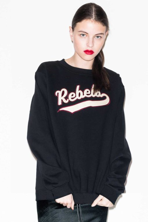 FFLAG Paris – Fight for love and glory – Sweatshirt rebels noir – face