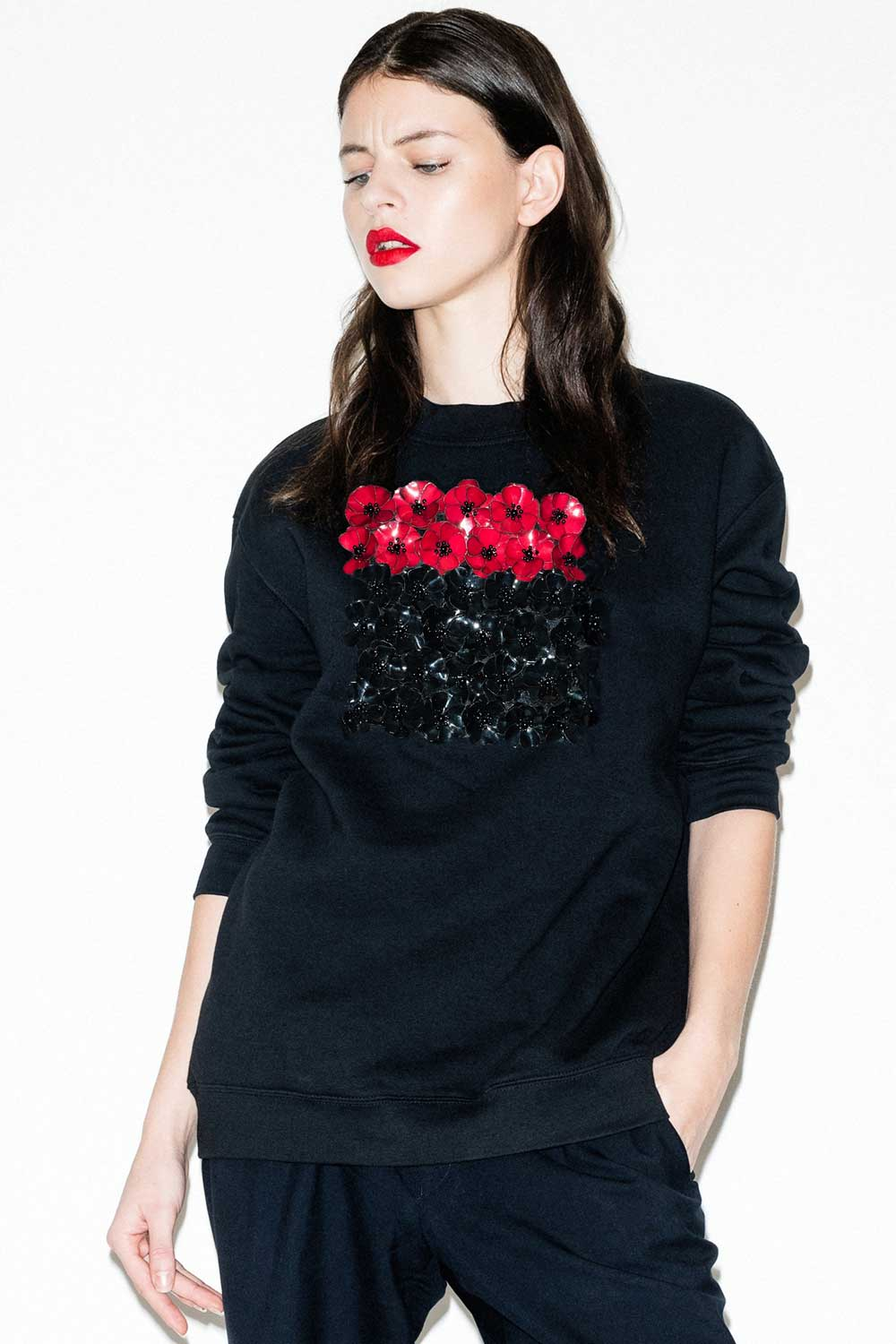 fflag-sweatshirt-poppies--ornement-fleurs-sequins-bicolore1