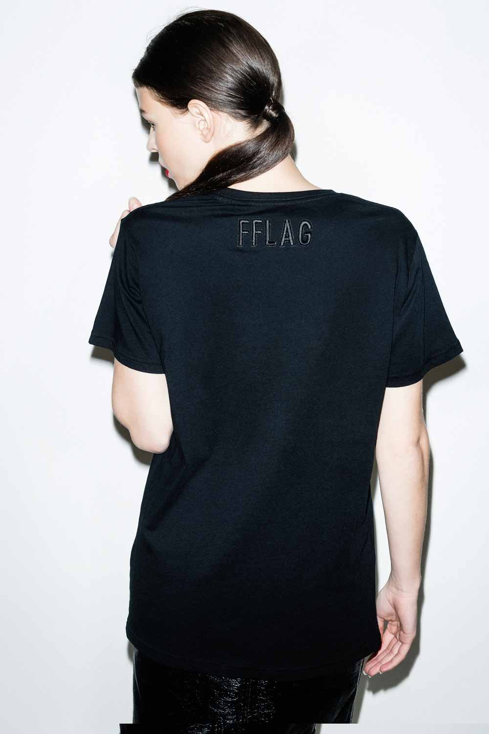 FFLAG Paris – Fight for love and glory – T-shirt rebels noir – dos