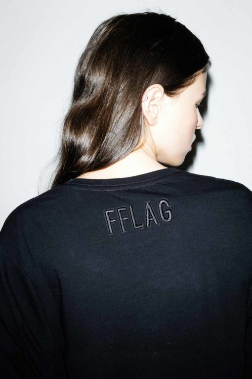 FFLAG Paris – Fight for love and glory – T-shirt rebels blanc – dos